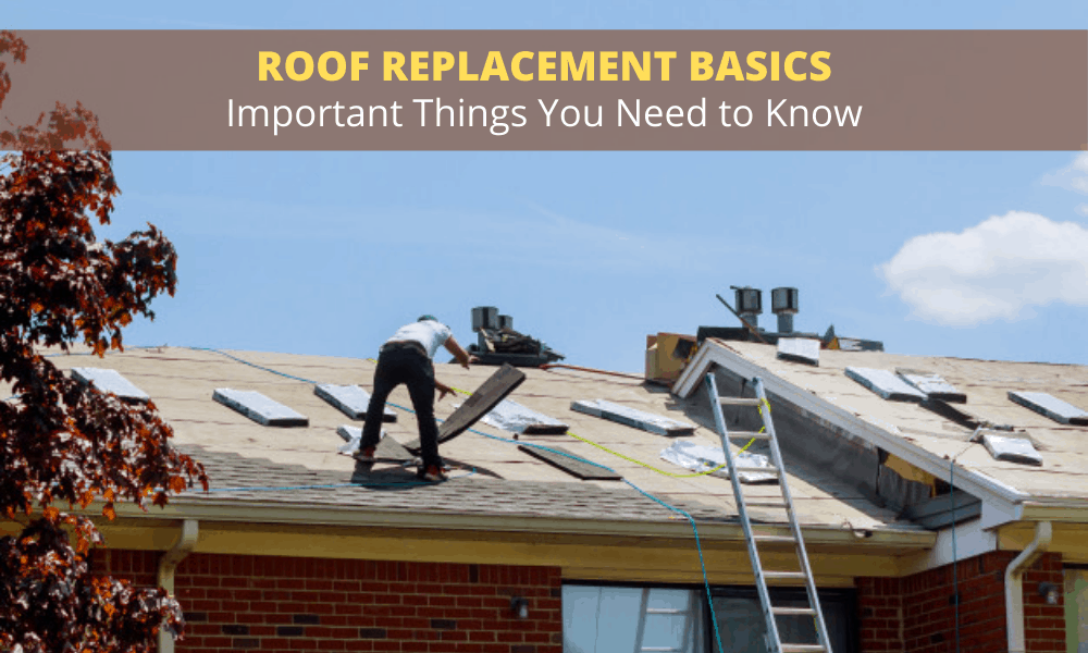 Roof Replacement Basics - Important Things You Need to Know